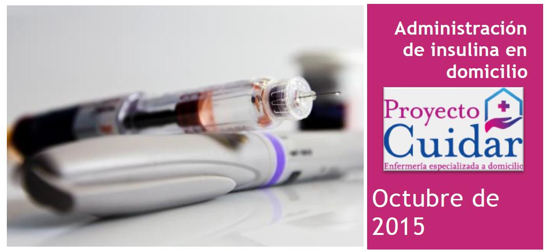 Guía de administración de insulina para cuidadores | Proyecto Cuidar